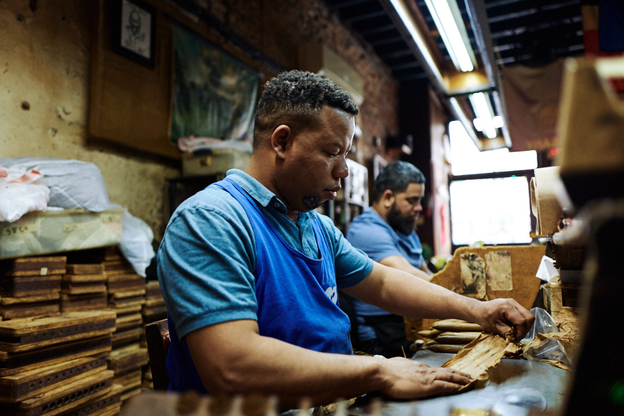Rolling Cigars in NOLA